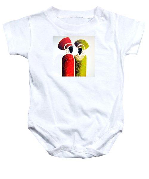 Vibrant Zulu Ladies - Original Artwork Baby Onesie