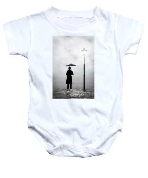 Victorian Man Baby Onesie