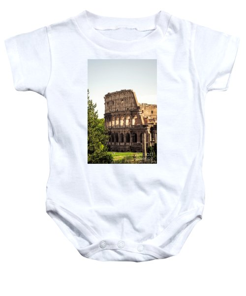View Of Colosseum Baby Onesie