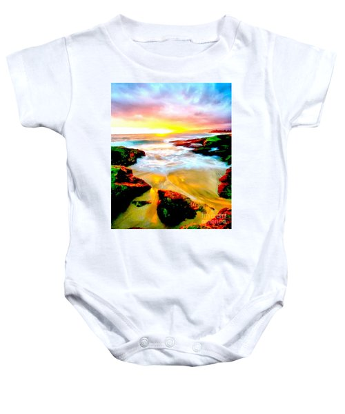 Water Runs To It Baby Onesie