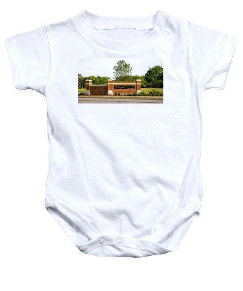 Welcome To Cayce Baby Onesie