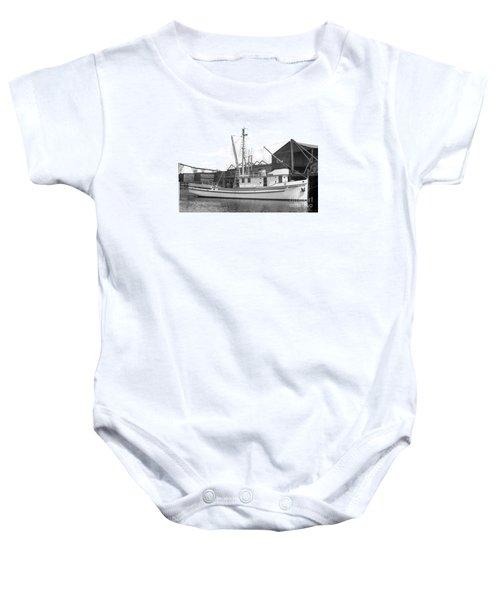 Western Flyer Purse Seiner Tacoma Washington State March 1937 Baby Onesie