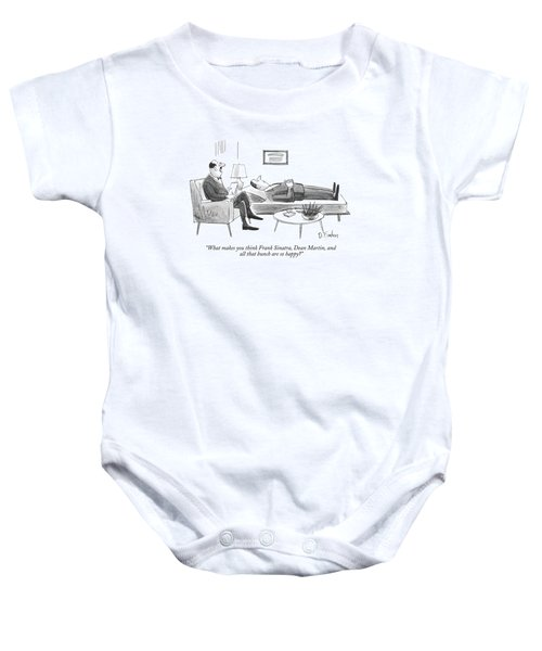 What Makes You Think Frank Sinatra Baby Onesie