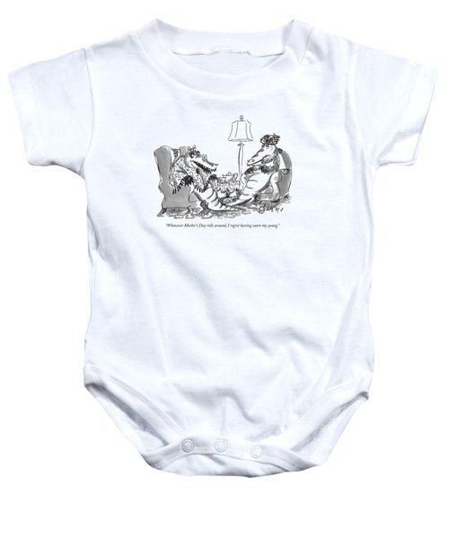 Whenever Mother's Day Rolls Baby Onesie