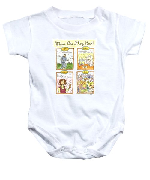 Where Are They Now? Baby Onesie by Roz Chast