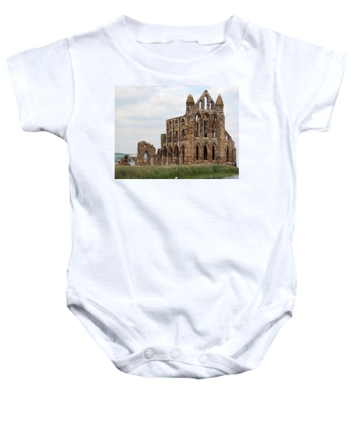 Whitby Abbey Baby Onesie