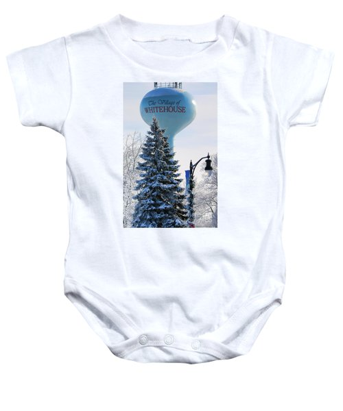 Whitehouse Water Tower  7361 Baby Onesie