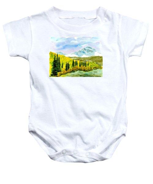 Willard Peak Baby Onesie