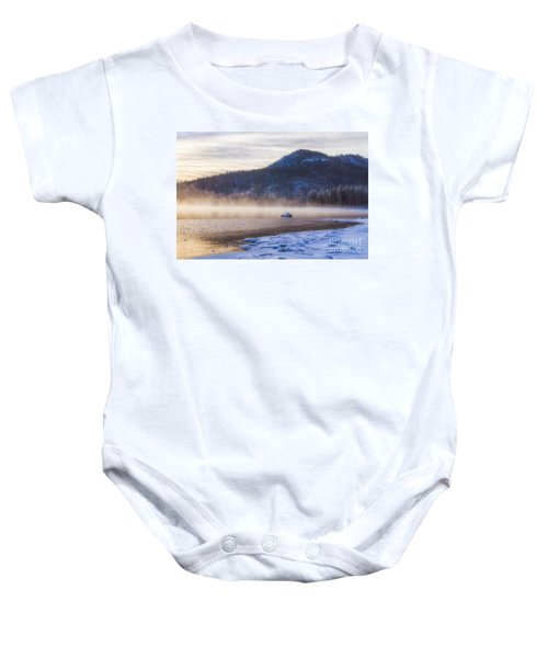 Winter Mist Baby Onesie