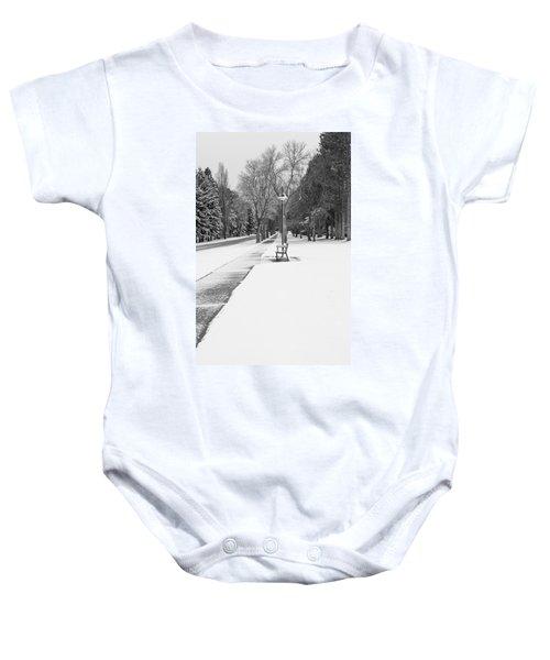 Winter Walk Baby Onesie