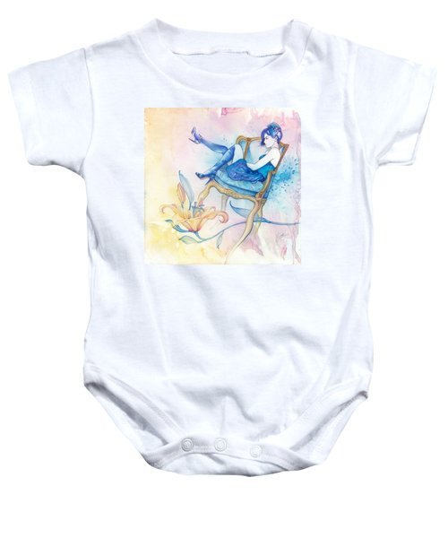 With Head In The Clouds Baby Onesie