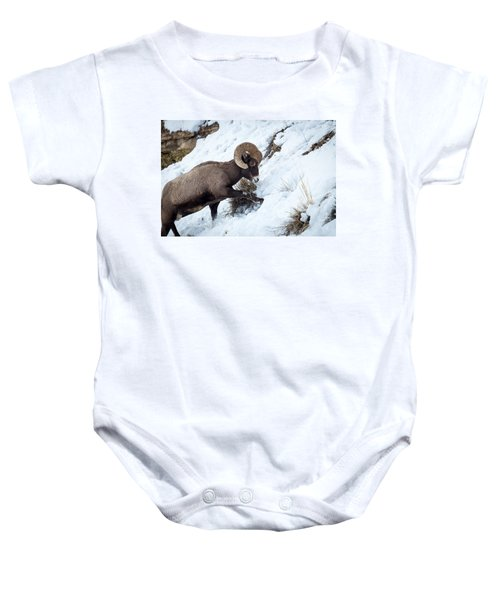 Yellowstone Bighorn Baby Onesie