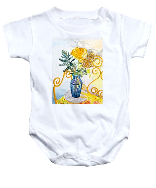 The Blue Vase Baby Onesie