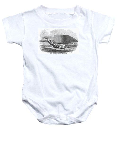 Whaling, 1850 Baby Onesie