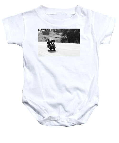 A Peaceful Ride Baby Onesie