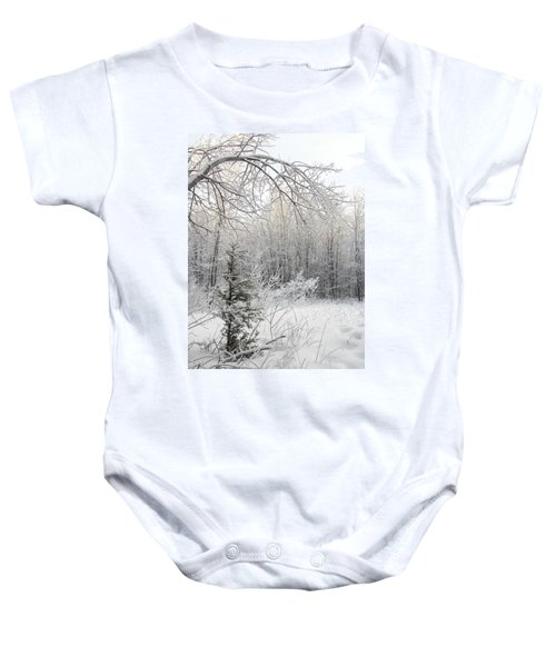 And More Snow Baby Onesie