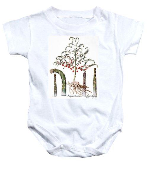 Botany: Asparagus, 1613 Baby Onesie