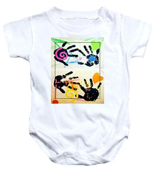 Child's Art Work Baby Onesie
