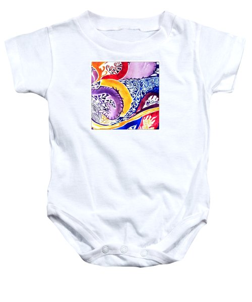 Dreaming In Watercolors Baby Onesie