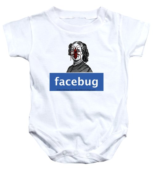Facebug For Women Baby Onesie