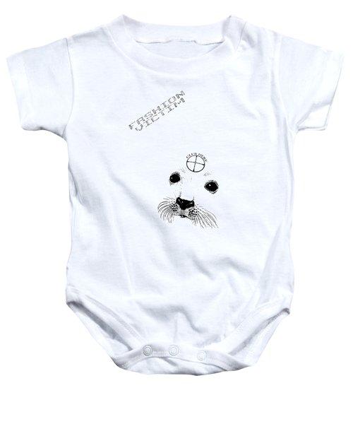 Fashion Victim Baby Onesie