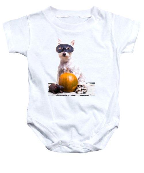 Happy Halloween Dog Baby Onesie