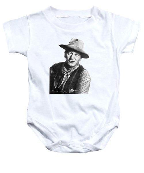 John Wayne  Sheriff Baby Onesie
