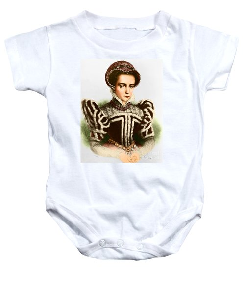 Mary I, Queen Of England And Ireland Baby Onesie by Omikron