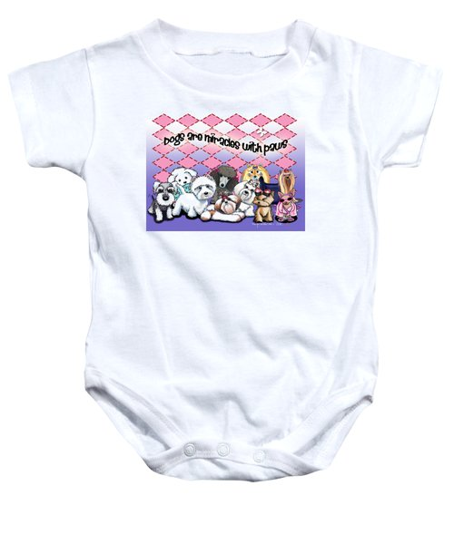 Miracles With Paws Baby Onesie