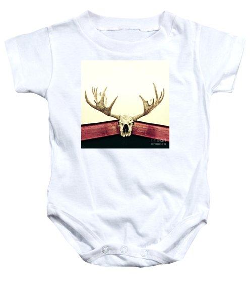 Moose Trophy Baby Onesie