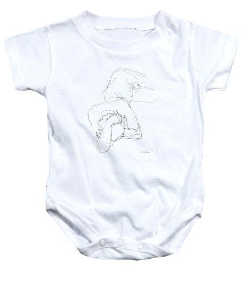 Nude Male Drawings 7 Baby Onesie