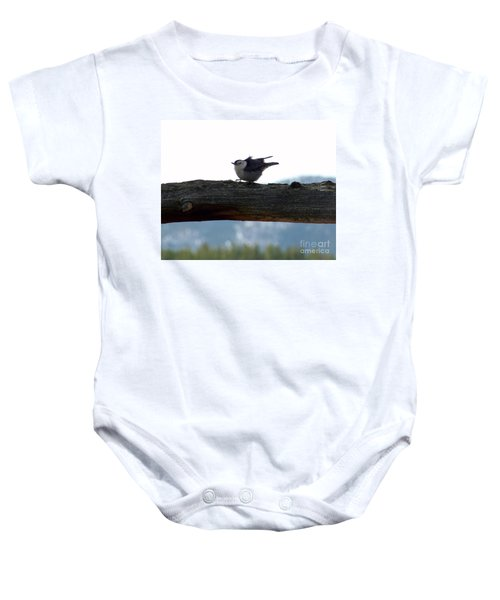 Nuthatch Baby Onesie