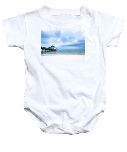 Pier 60 At Clearwater Beach Florida Baby Onesie