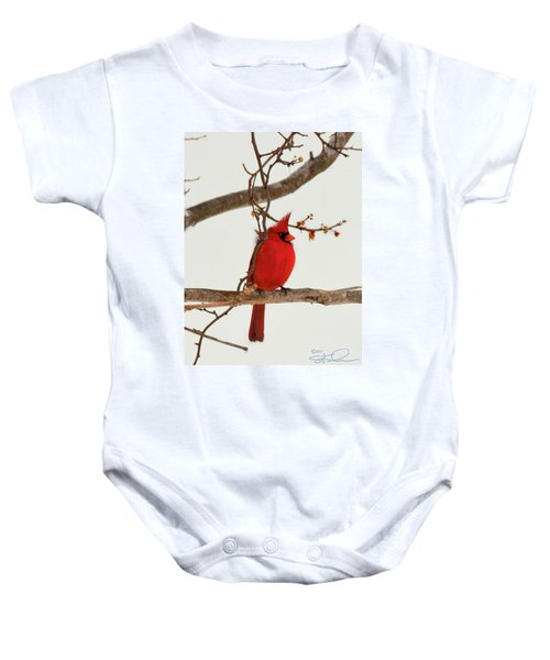 Righteous Cardinal Baby Onesie
