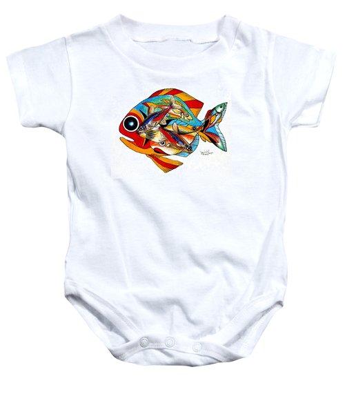 Seven Fish Baby Onesie