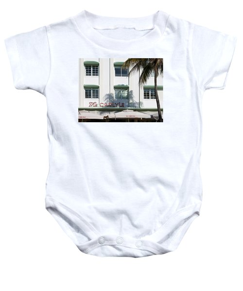 The Carlyle Hotel 2. Miami. Fl. Usa Baby Onesie