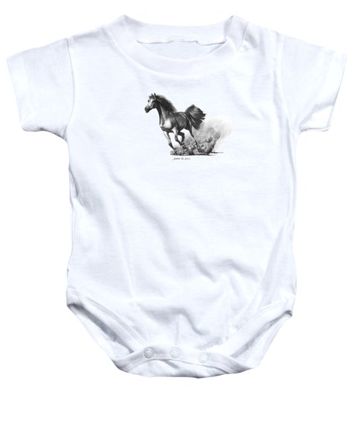 the Race is on  Baby Onesie