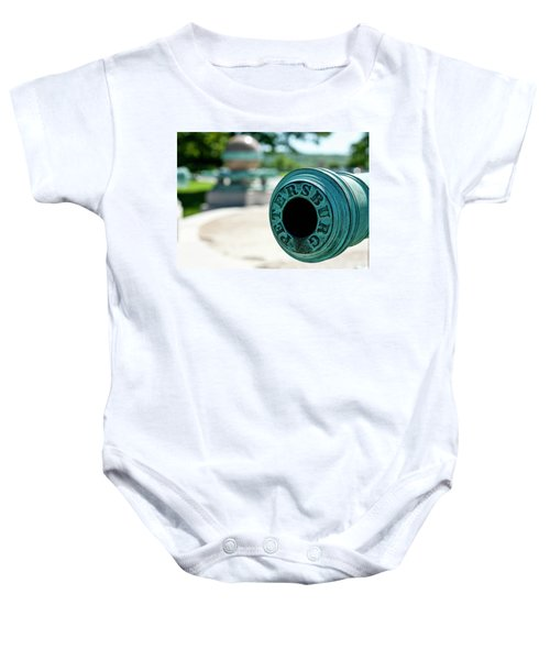 Trophy Point Cannon Baby Onesie