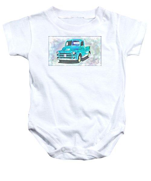 Dodge Pickup Baby Onesie
