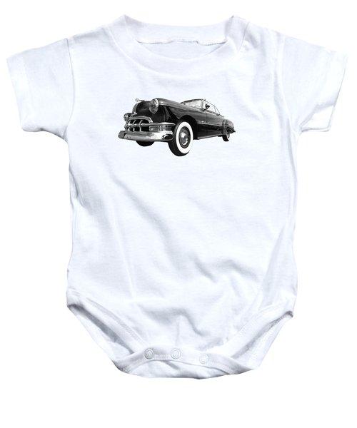 1950 Pontiac Silver Streak Baby Onesie