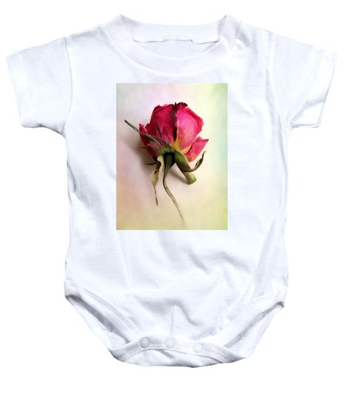 A Single Rose Baby Onesie