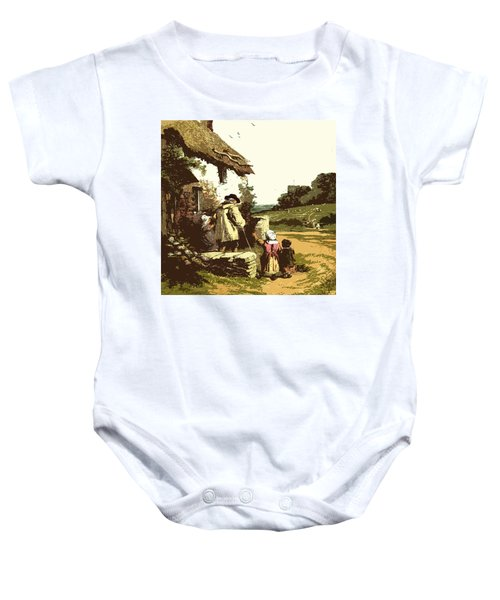 A Walk With The Grand Kids Baby Onesie