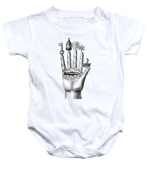 Alchemical Symbols Baby Onesie