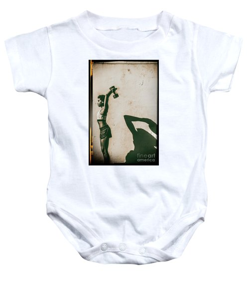 Athletic Woman Baby Onesie