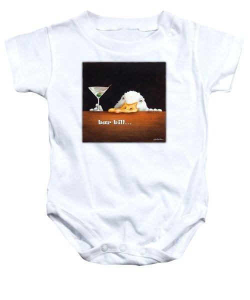 Bar Bill... Baby Onesie