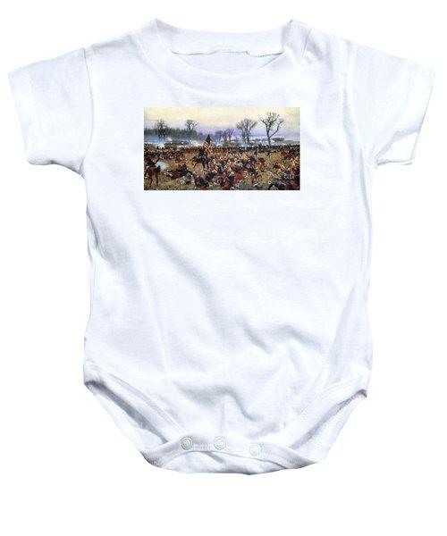 Battle Of Fredericksburg - To License For Professional Use Visit Granger.com Baby Onesie