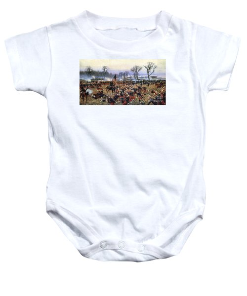 Battle Of Fredericksburg - To License For Professional Use Visit Granger.com Baby Onesie