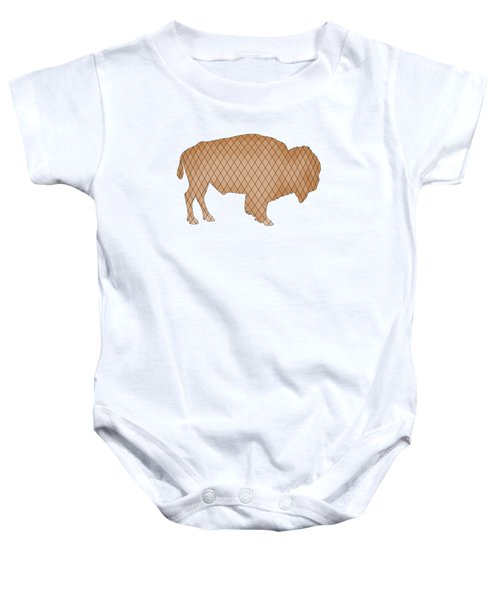 Bison Baby Onesie by Mordax Furittus