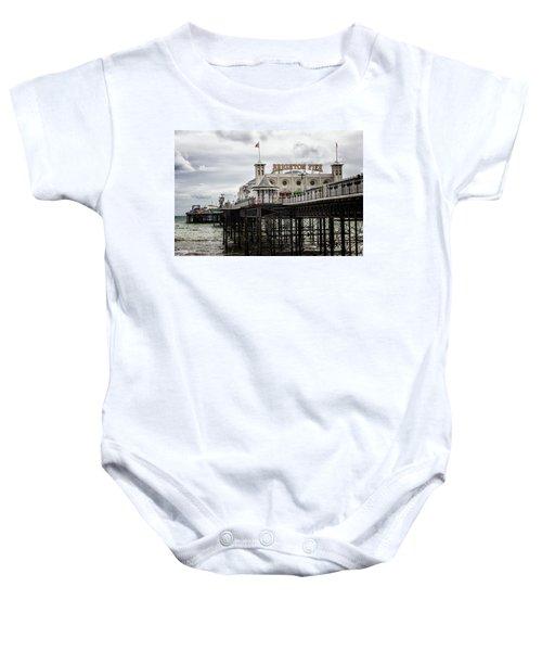 Brighton Pier Baby Onesie