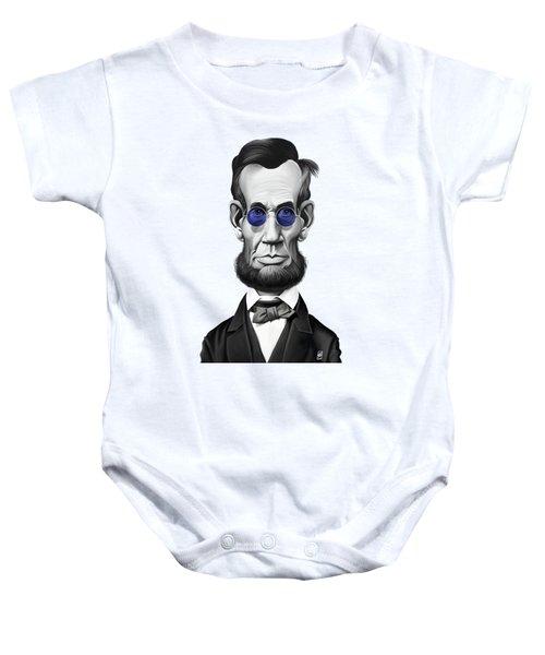 Celebrity Sunday - Abraham Lincoln Baby Onesie